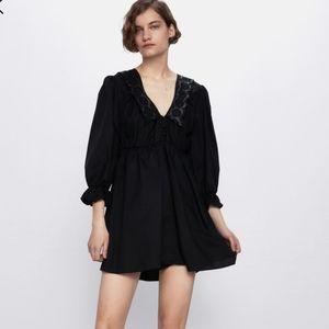 Zara combination Coller dress